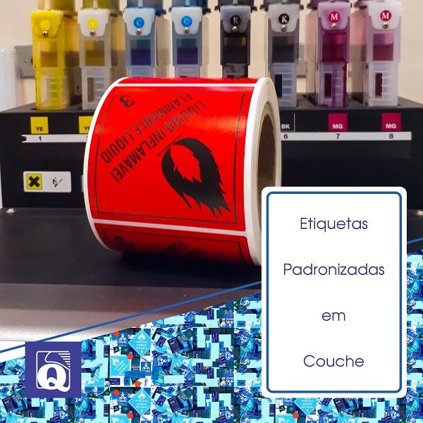 Etiquetas de segurança para produtos