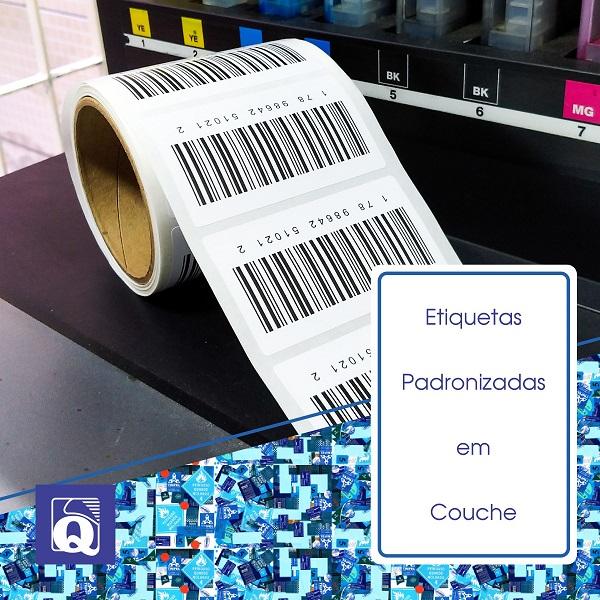 Etiquetas Personalizadas em Couche